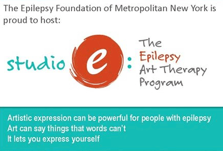EFMNY's Studio E Epilepsy Art Therapy Exhibition